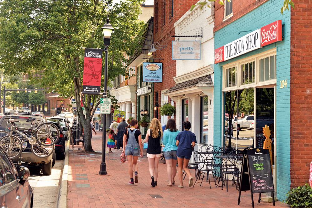 Soda Shop, Davidson, North Carolina