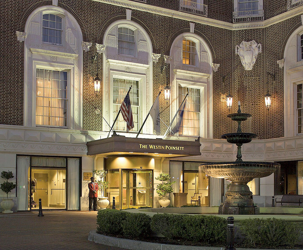 Westin Poinsett Hotel, Greenville, South Carolina