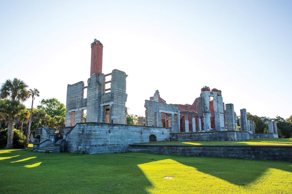 Carnegie mansion, Cumberland Island, Georgia