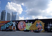 Disco Kroger Mural