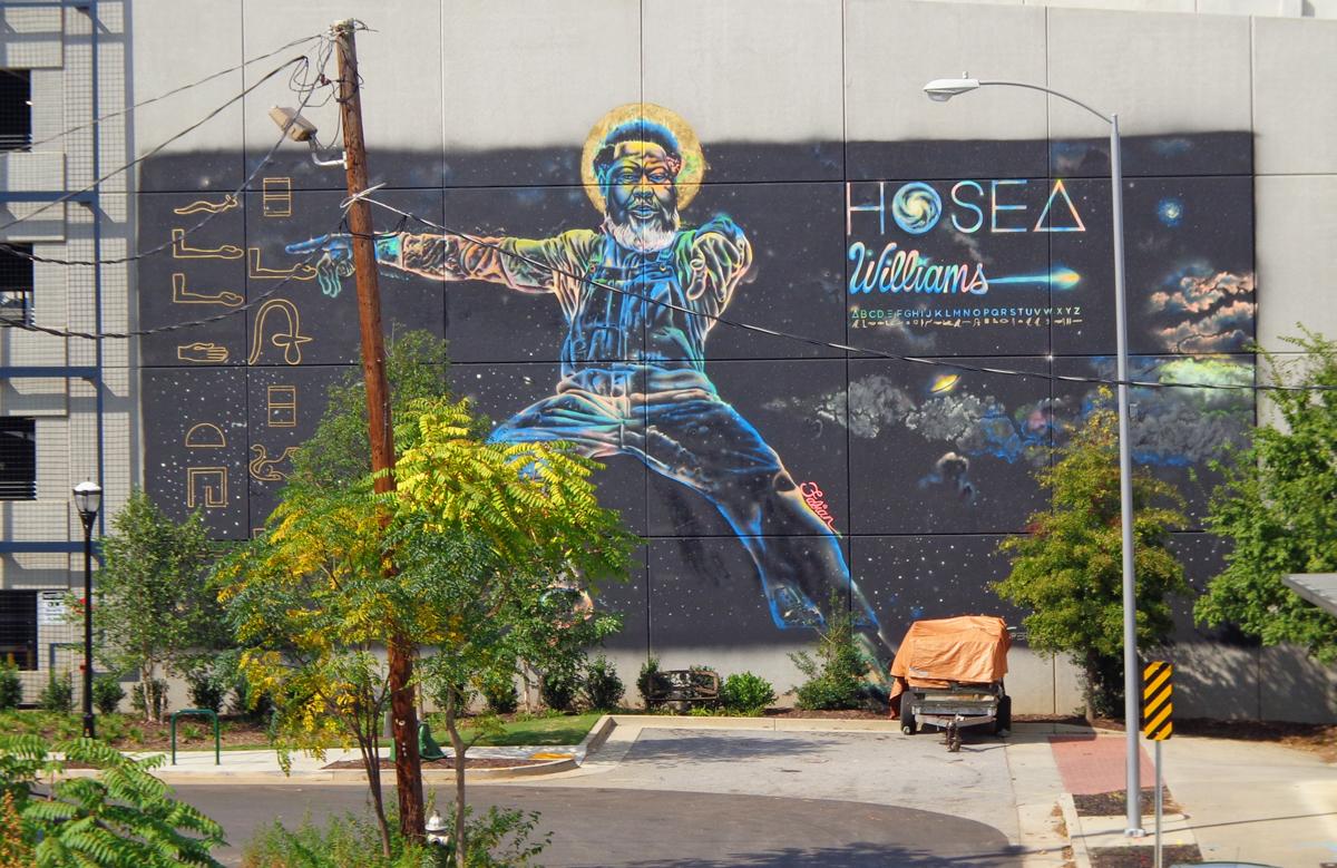 Hosea Williams Mural