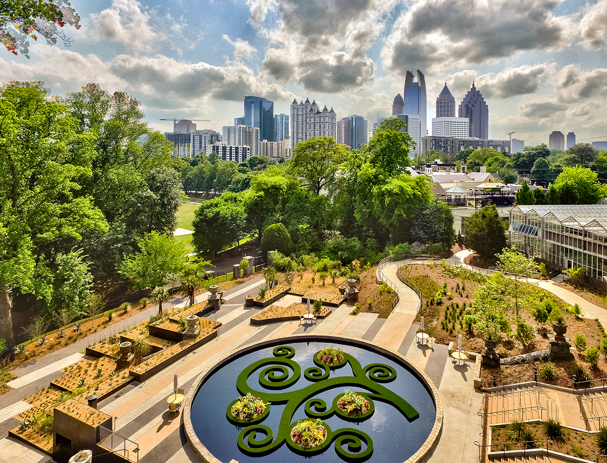 Atlanta Botanical Skyline Garden