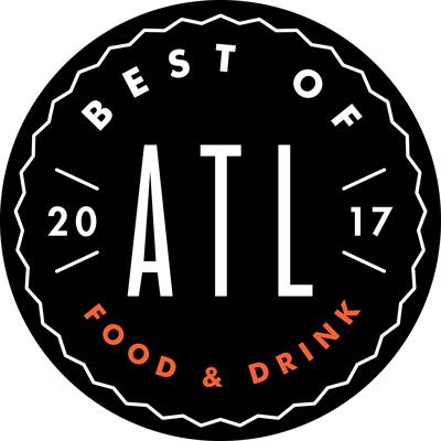 Best of Atlanta Food & Drink badge