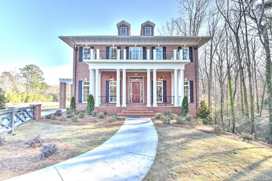 house envy this east cobb georgian revival merges classical design