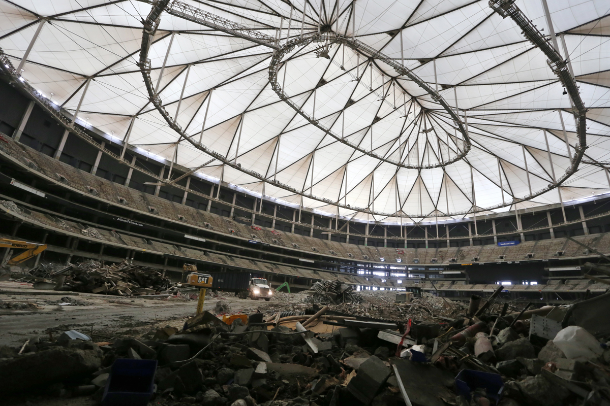 Georgia Dome Demolition >> 11 things to know about the Georgia Dome implosion - Atlanta Magazine
