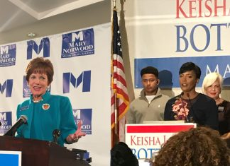 Keisha Lance Bottoms Mary Norwood Atlanta runoff