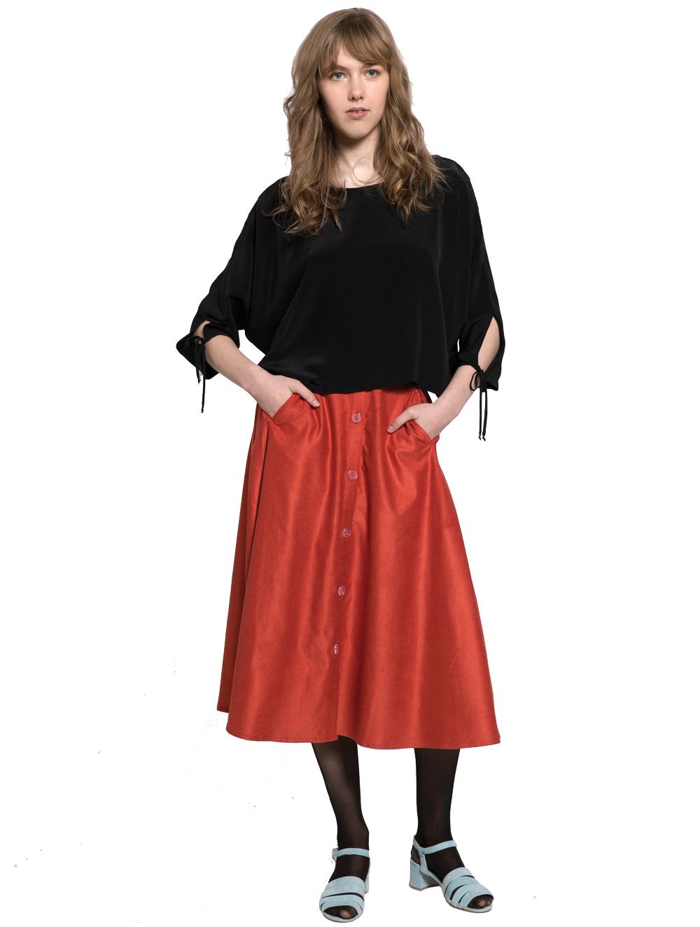 Megan Huntz Selena blouse