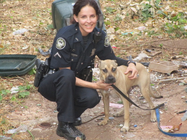Meet the Atlanta Police officer whose job is to end animal cruelty