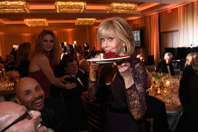 Jane Fonda's 80th birthday bash raises $1.3 million for teen pregnancy prevention