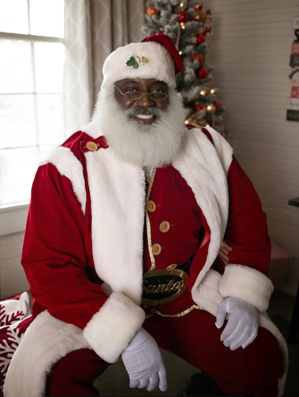 the real black santa - Christmas Beard
