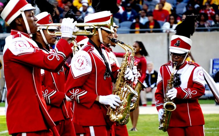 Clark Atlanta's marching band was in critical condition. Tomisha Brock is changing the tune.