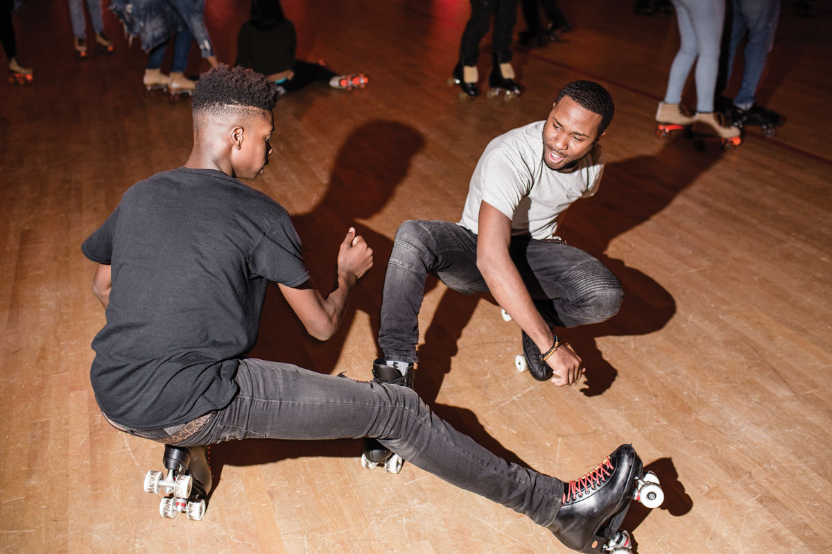Sunday Night Skate: Clubs don't have anything on Cascade's rolling weekly party