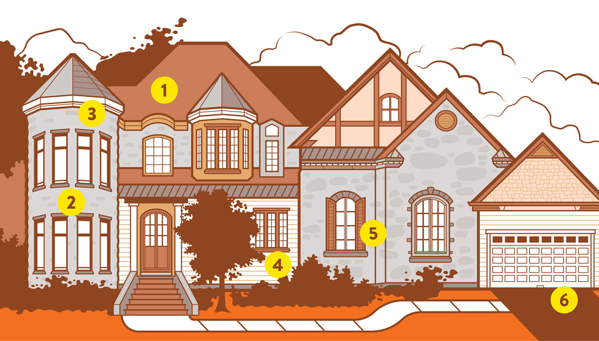 Anatomy of a McMansion