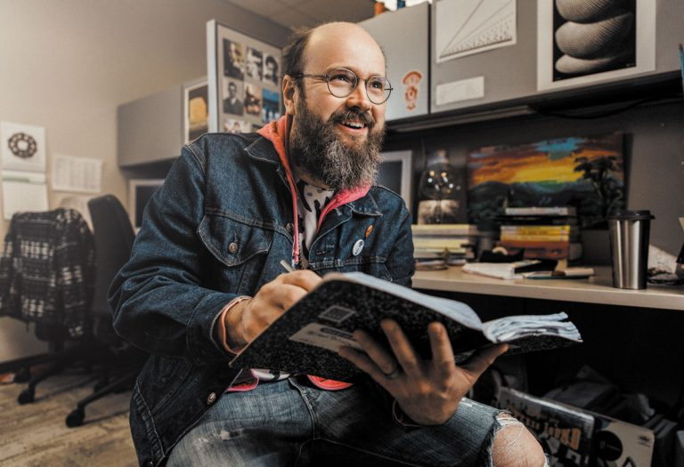 Apples in Stereo's Robert Schneider gave up a flourishing music career to chase his true passion: Math