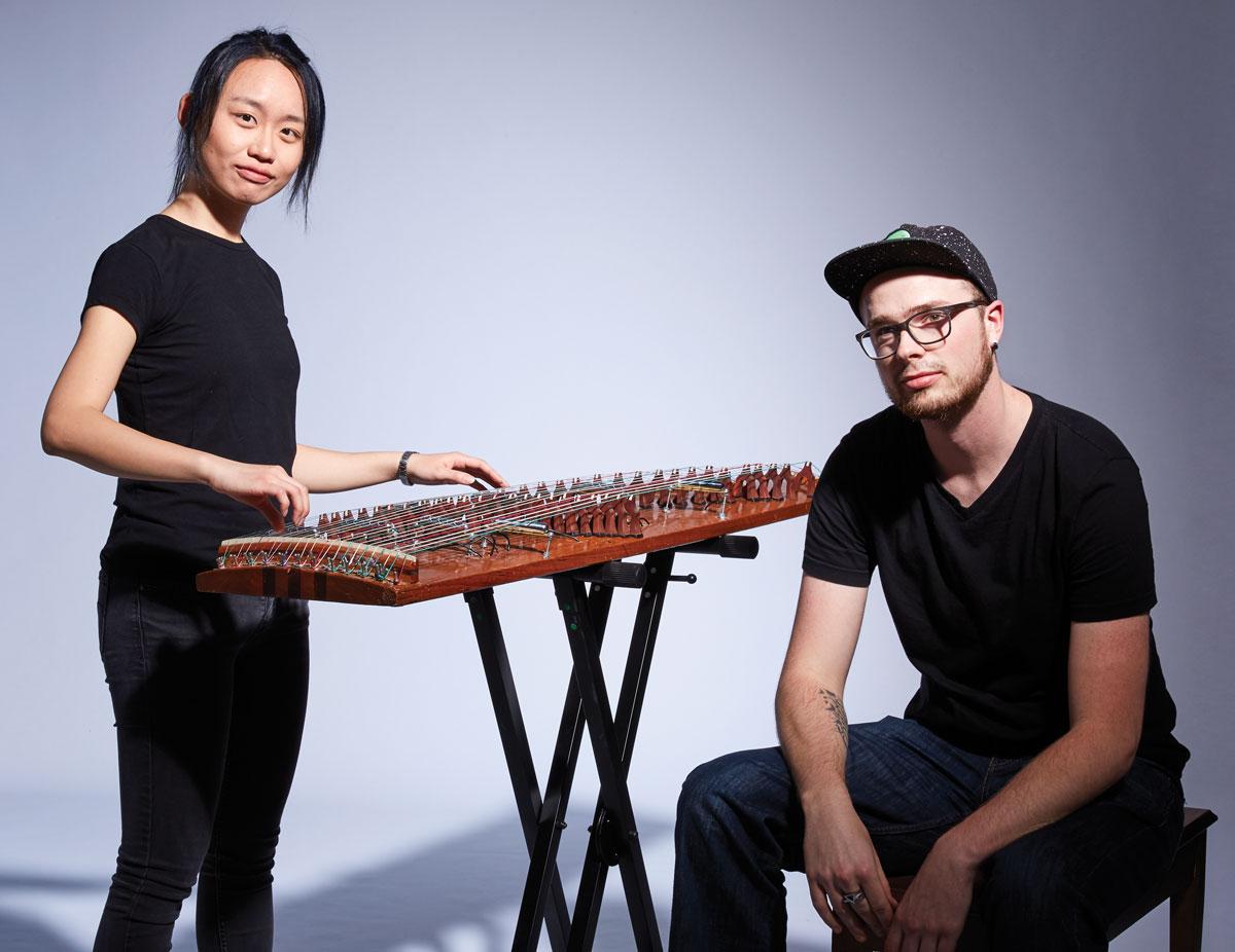 Ly Yang and Zak Seipel