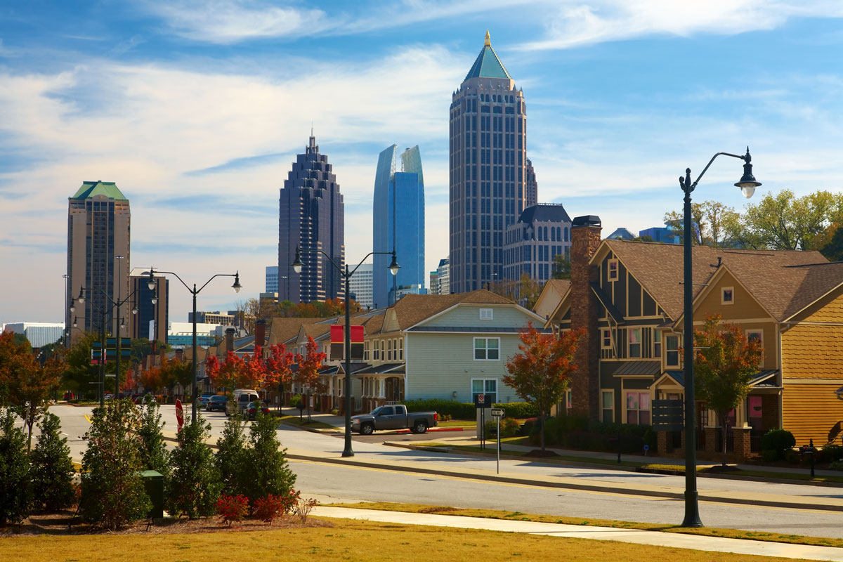 Where to live now in Atlanta 2018