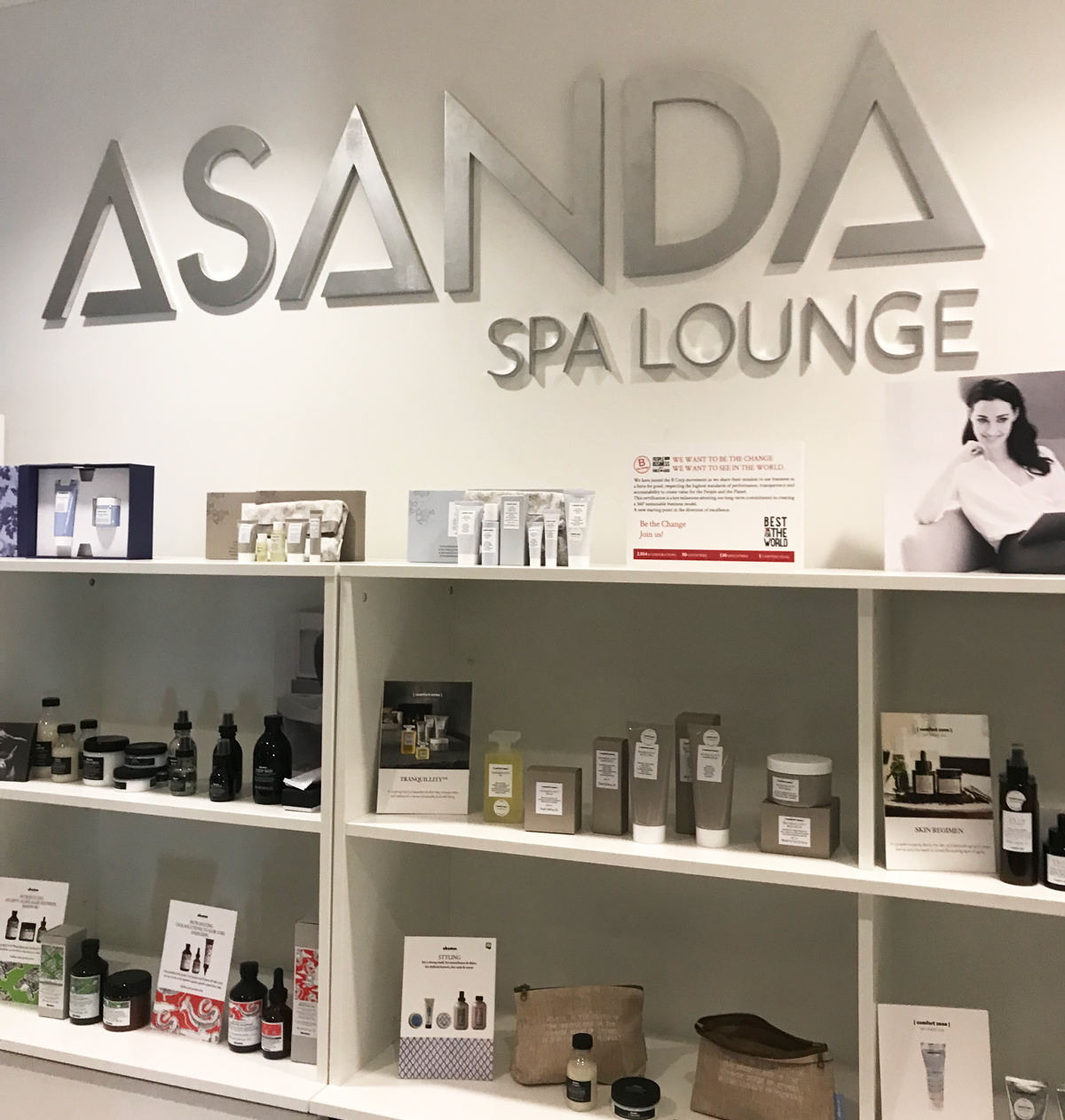 Asanda Spa Lounge Delta Sky Club Atlanta