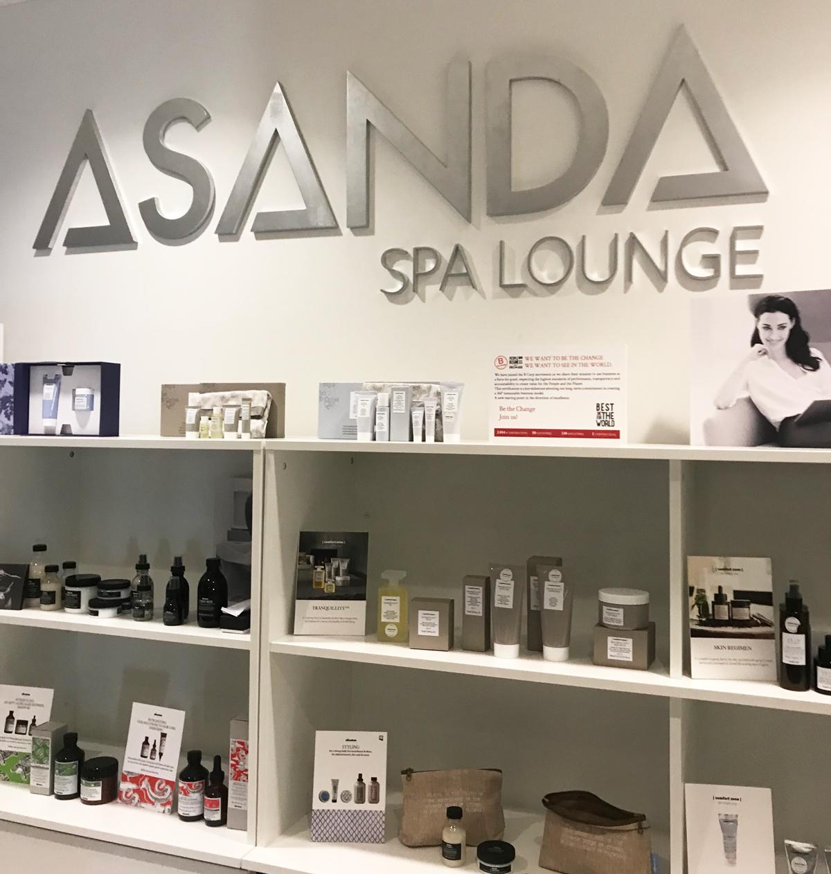 Asanda Spa Lounge Delta Sky Club Atlanta