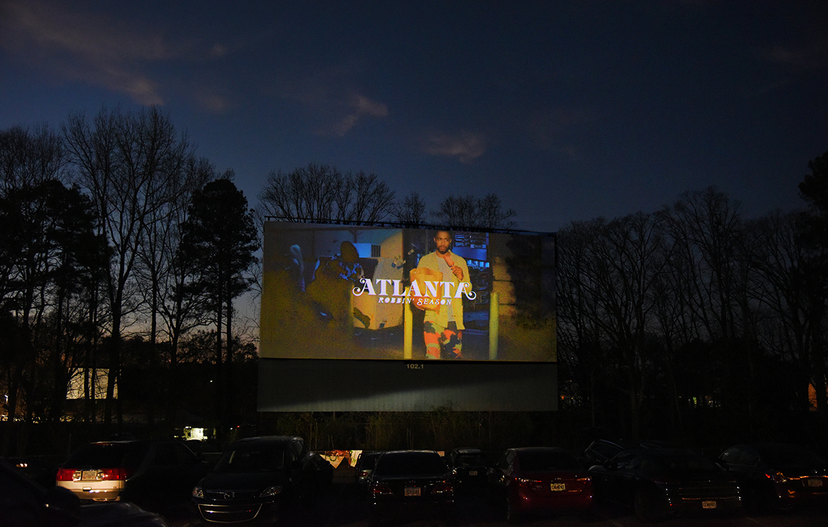 Atlanta: Robbin' Season 2 premiere Starlight Drive-In