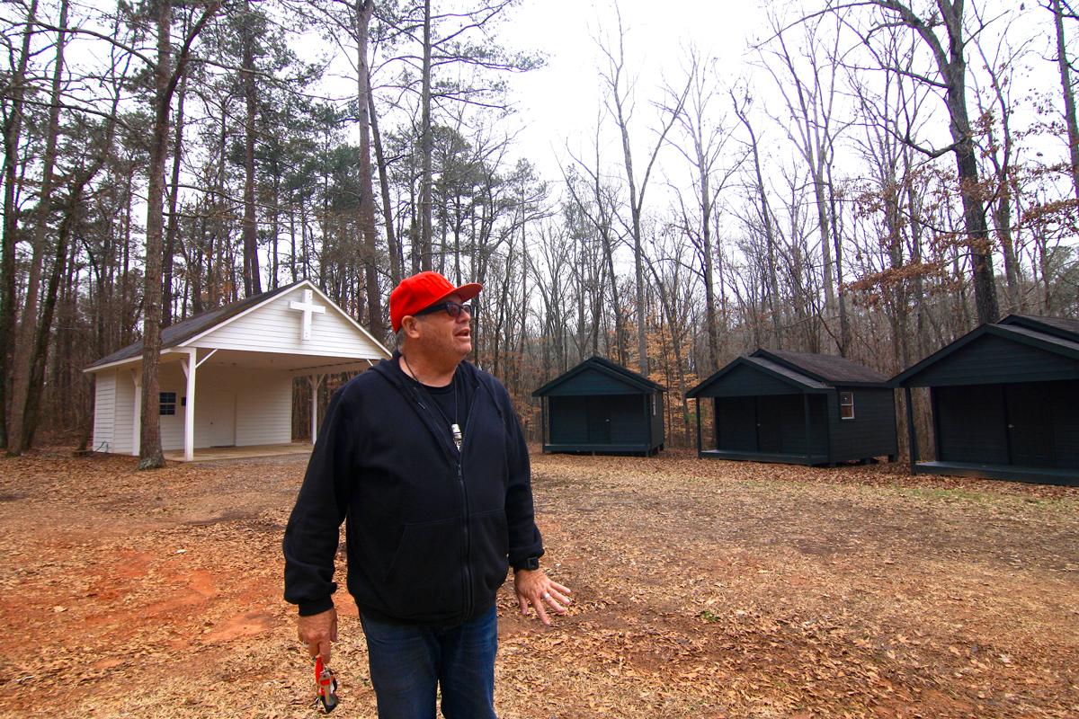 Grant Henry Church Sister Louisa's Sanctuary camp