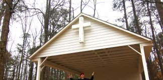Grant Henry Church Sister Louisa's Sanctuary camp