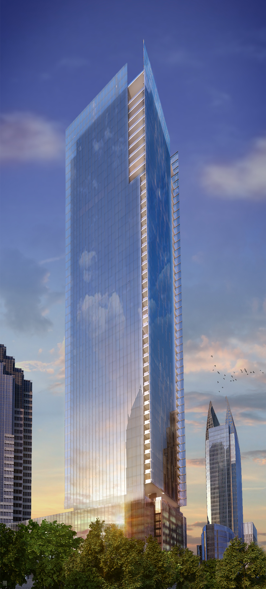 Atlanta\'s tallest new building since the \'90s aims for 2018 ...