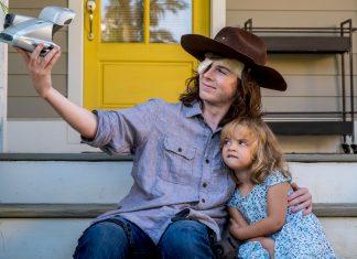 The Walking Dead 809 Carl Judith