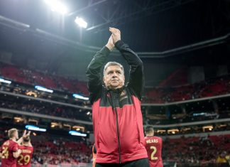 "Atlanta United coach Gerardo ""Tata"" Martino"