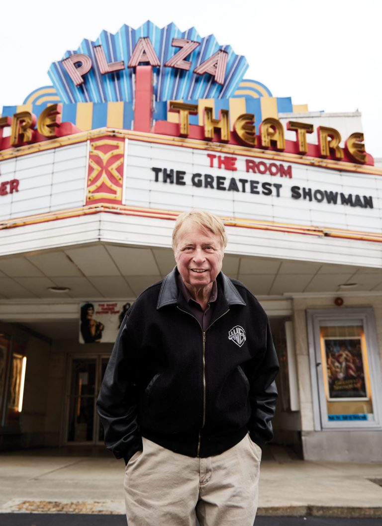 George Lefont, Atlanta's king of cinema, takes a bow