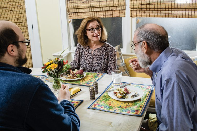Home for Dinner: Lois Reitzes of WABE's City Lights
