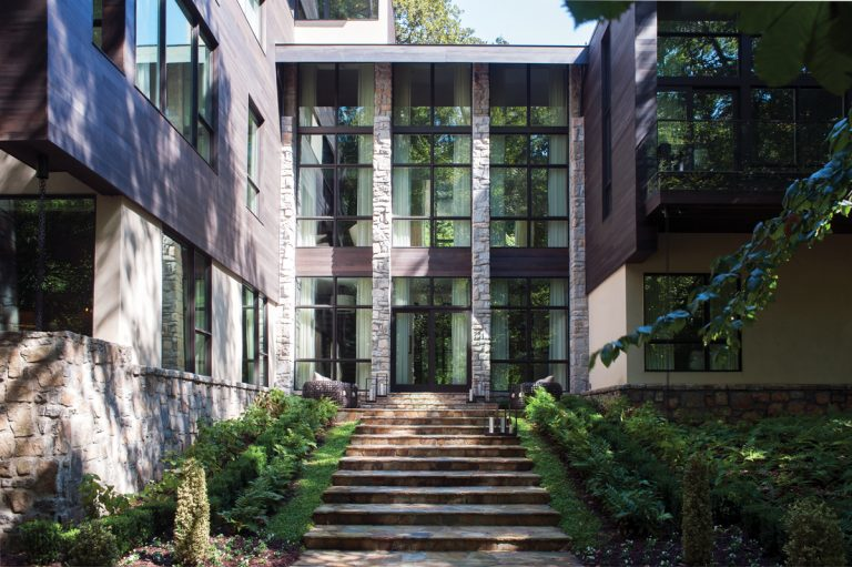 Natural Wonder: Step inside a creekside, glass-walled abode in Buckhead's Tuxedo Park