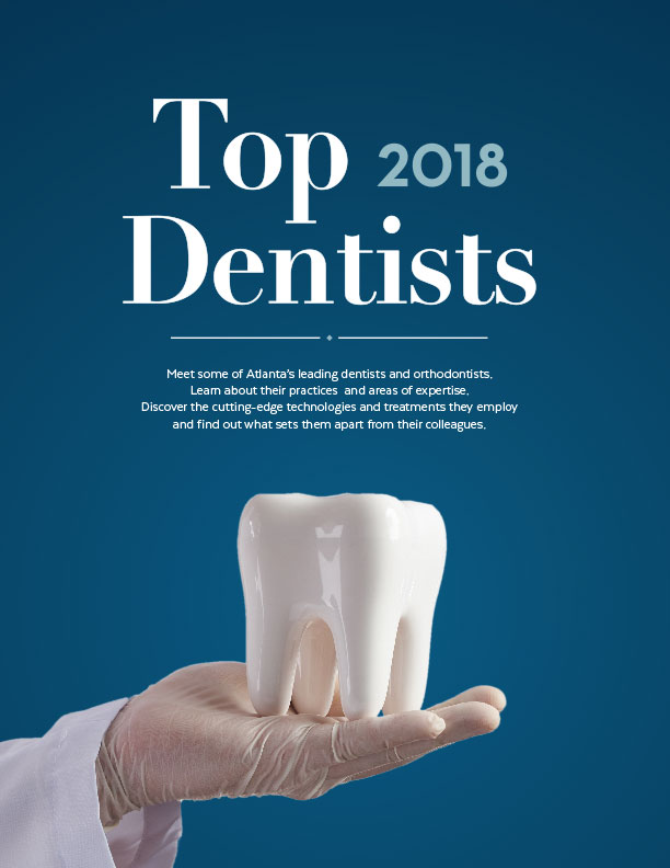 top dentists 2018 cover