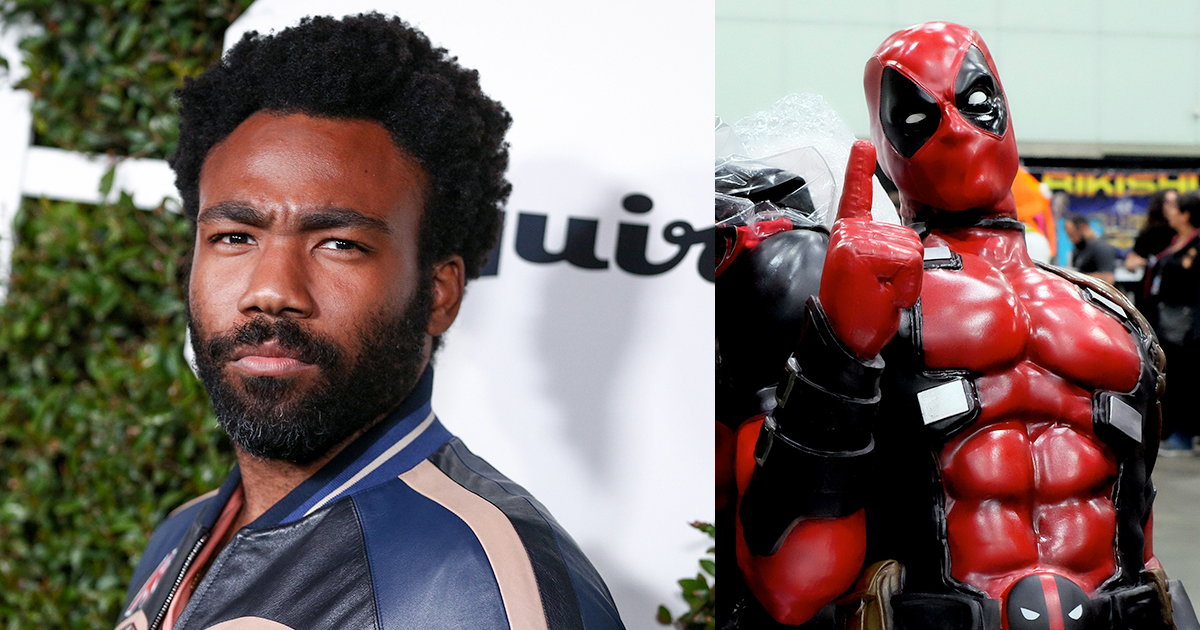 Donald Glover Deadpool Twitter