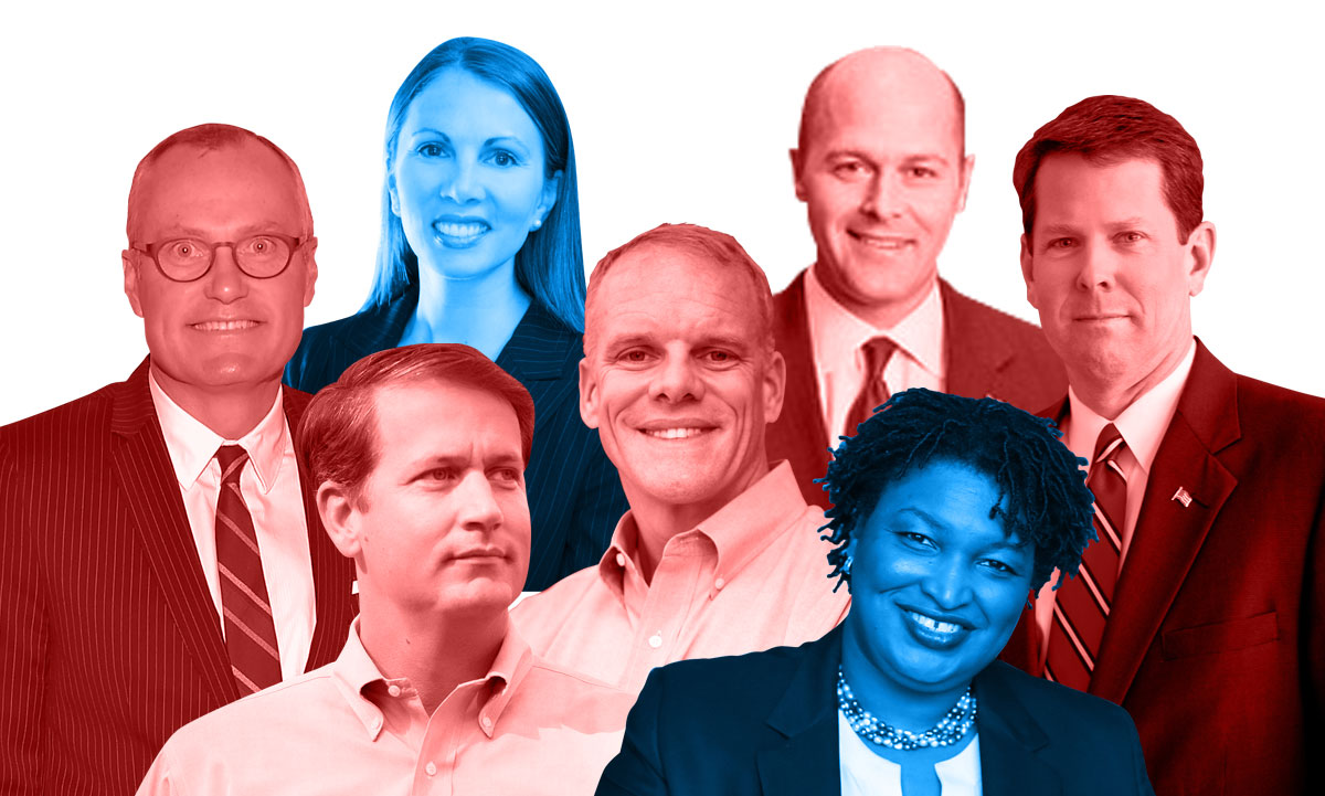 Who is running for governor in Georgia 2018