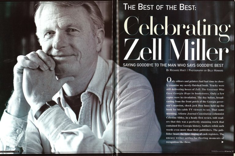 From the Archives: Saying goodbye to Zell Miller, the man who says goodbye best