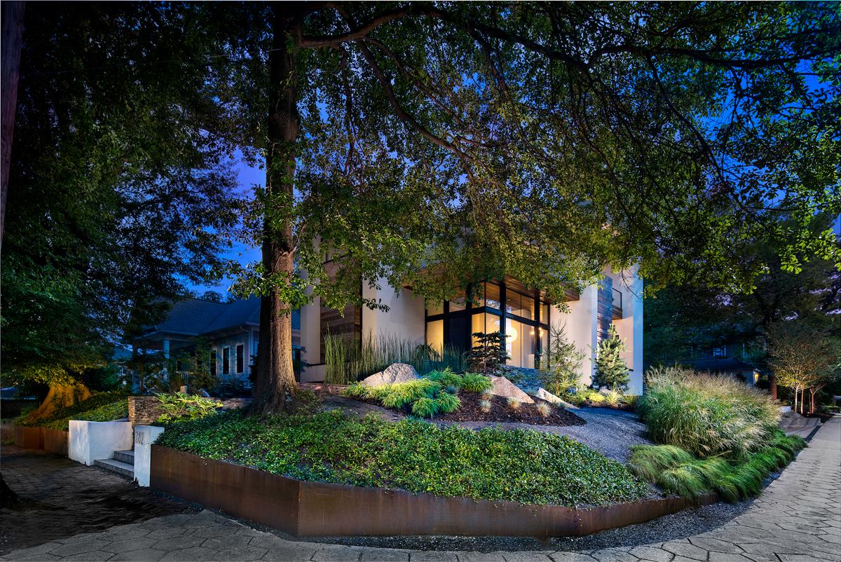 Landscape designer Brendan Butler