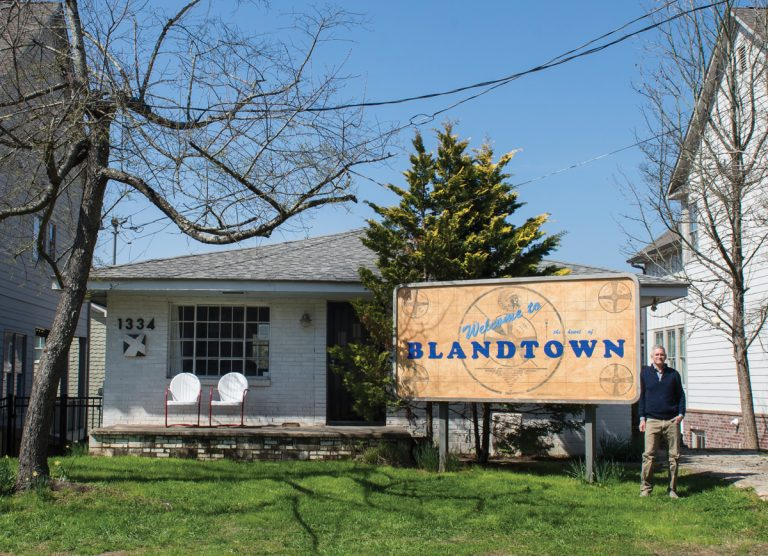 """""""A poke at the underbelly of Atlanta's gentrification."""" An artist fights to preserve Blandtown's forgotten history."""