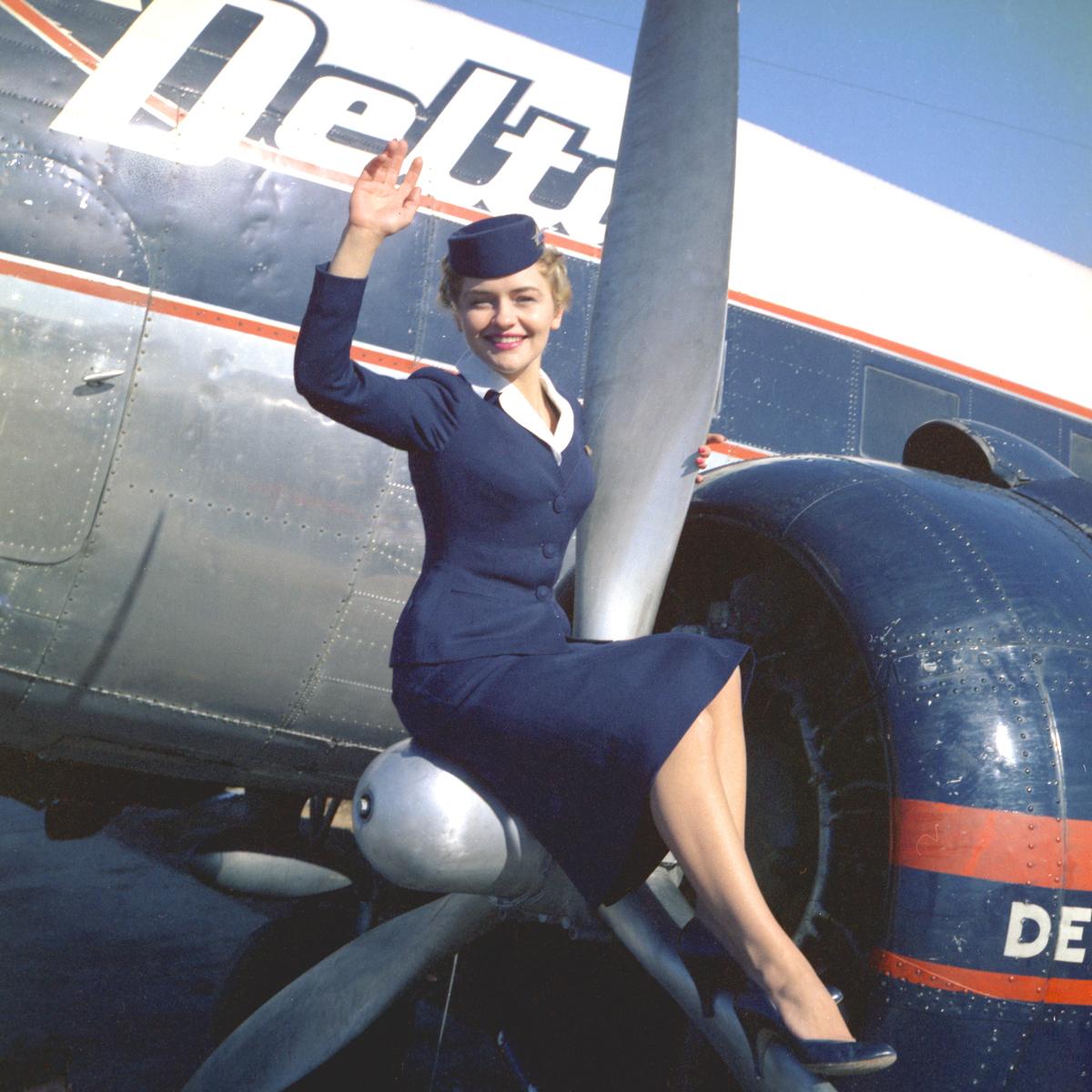 Delta Uniforms 1957-1959