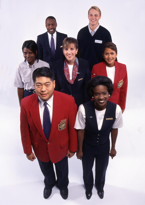 Delta Uniforms 1995