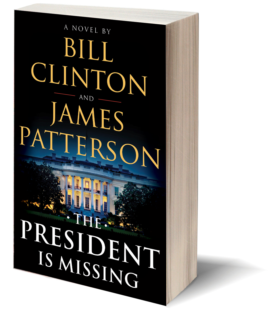Bill Clinton and James Patterson book