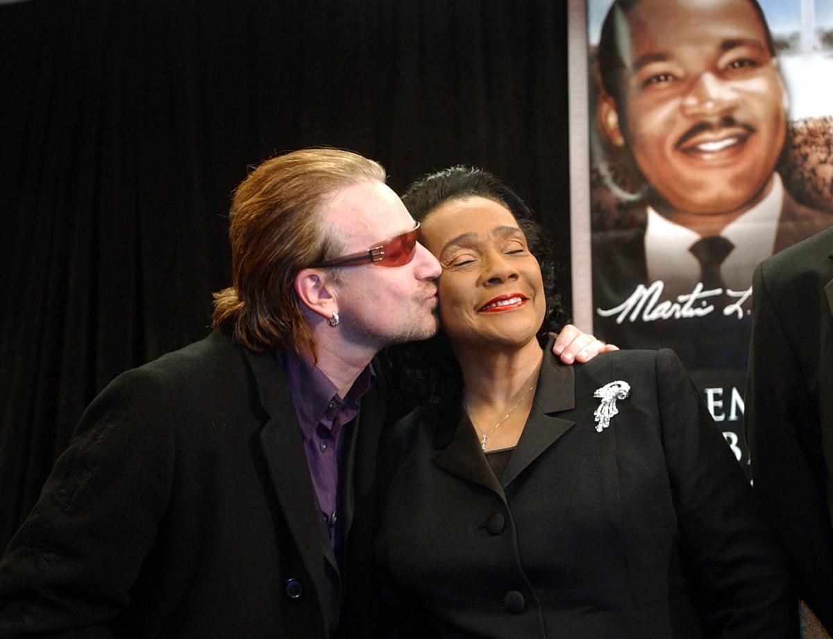 U2 Coretta Scott King