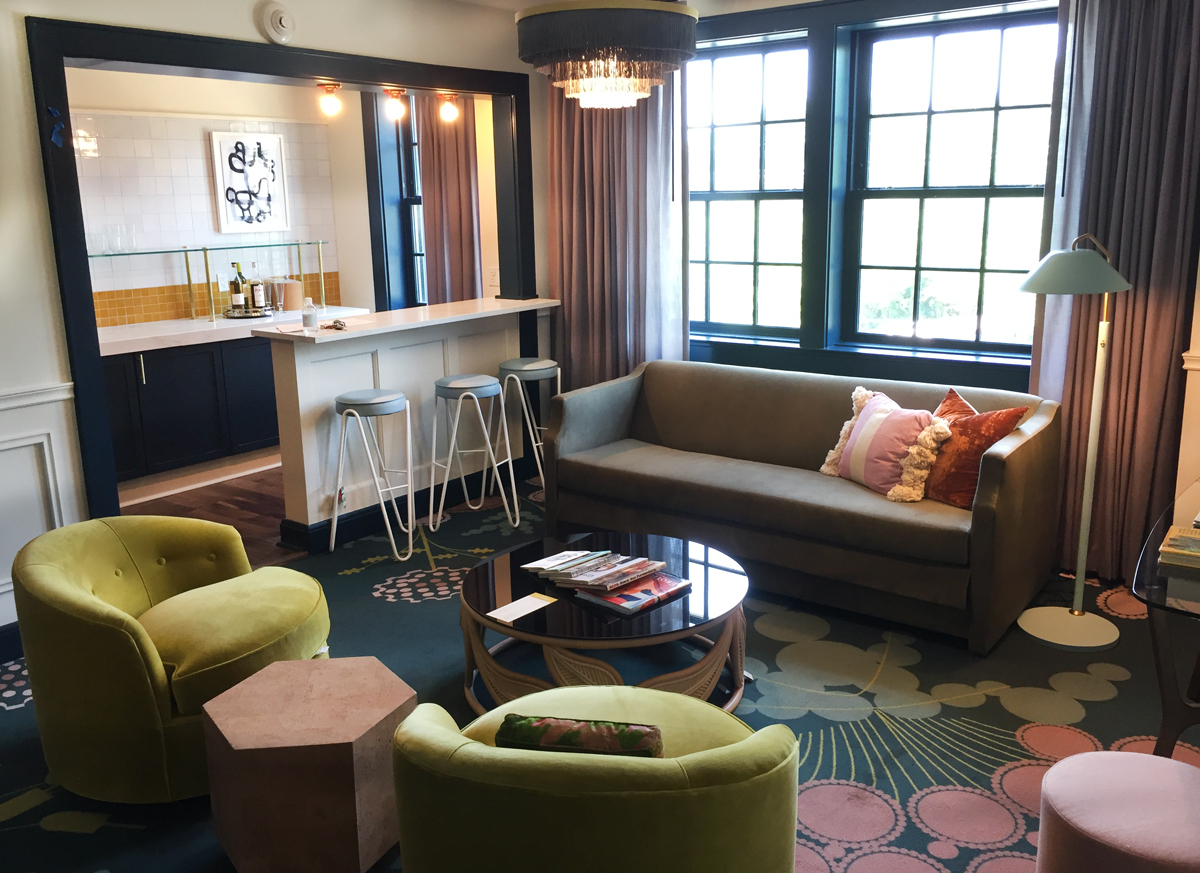 Rooms: A Peek At The Renovated Hotel Clermont's Hip Rooms And Vintage Furnishings