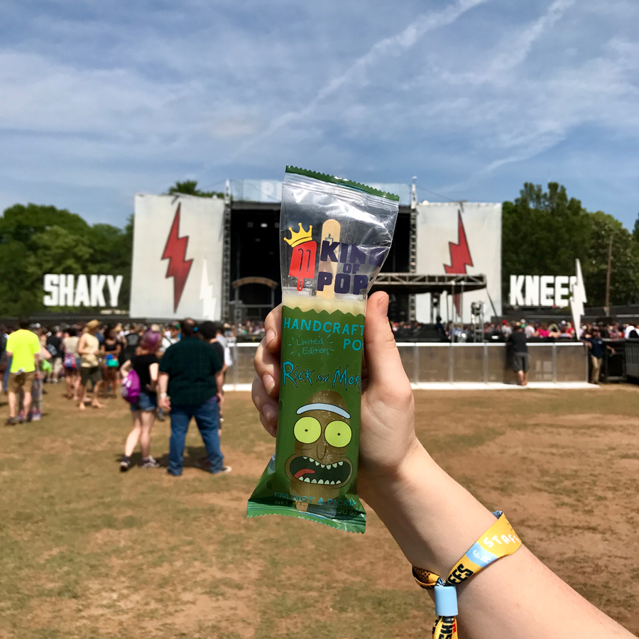 Rick and Morty Pickle Rick King of Pops
