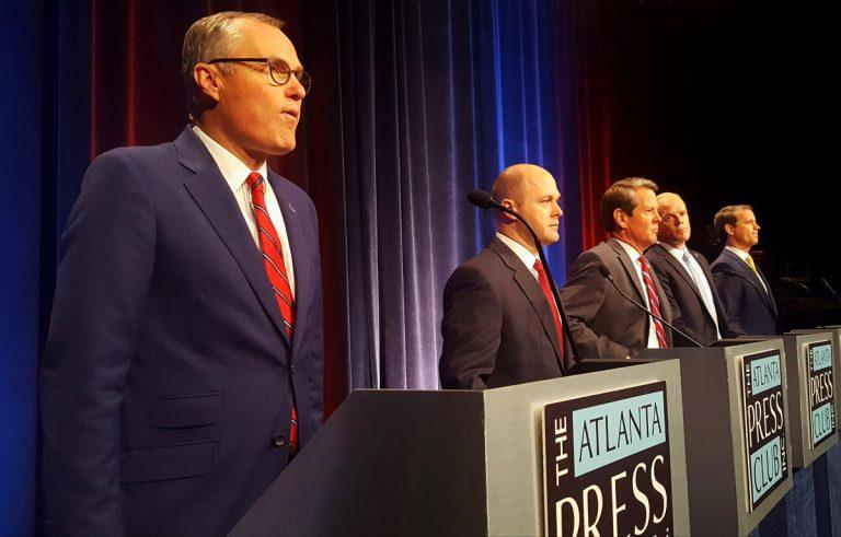 Guns, illegal immigration steal the show at Georgia Republican gubernatorial debate