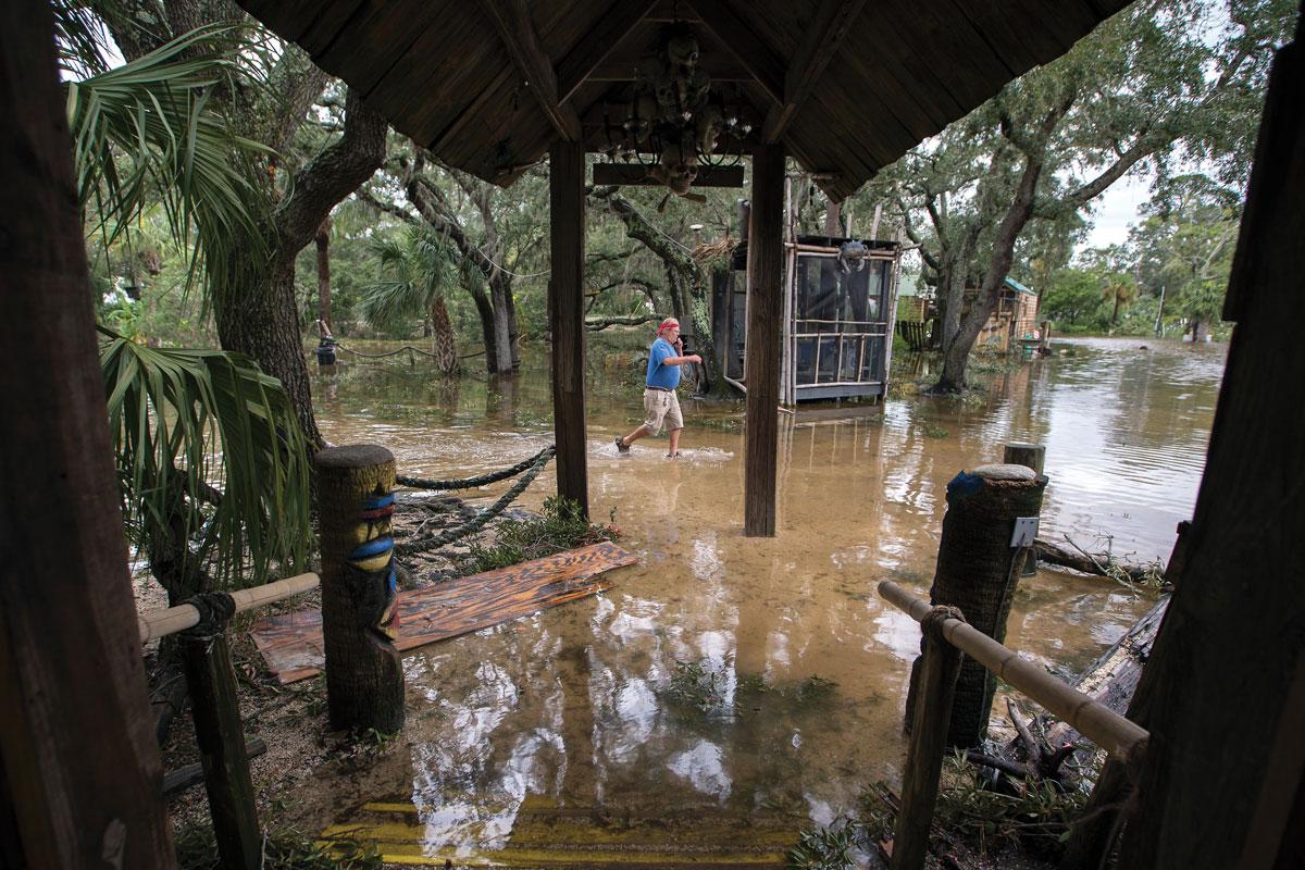 Georgia's Vanishing Coast - flooding on Tybee Island