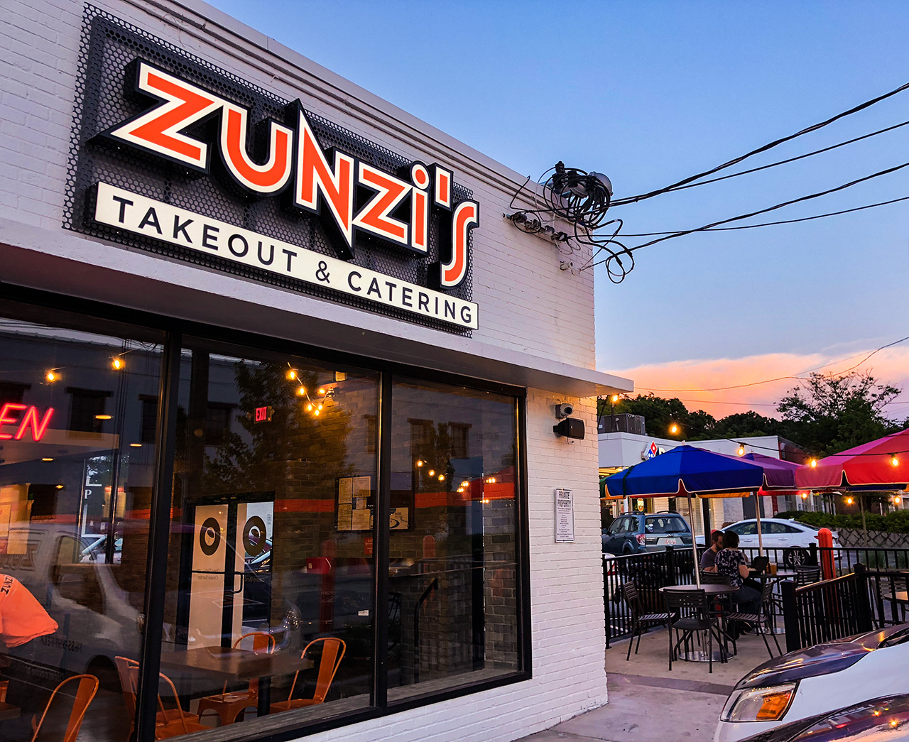 S#*t yeah! Zunzi's will leave you full, happy, and casually