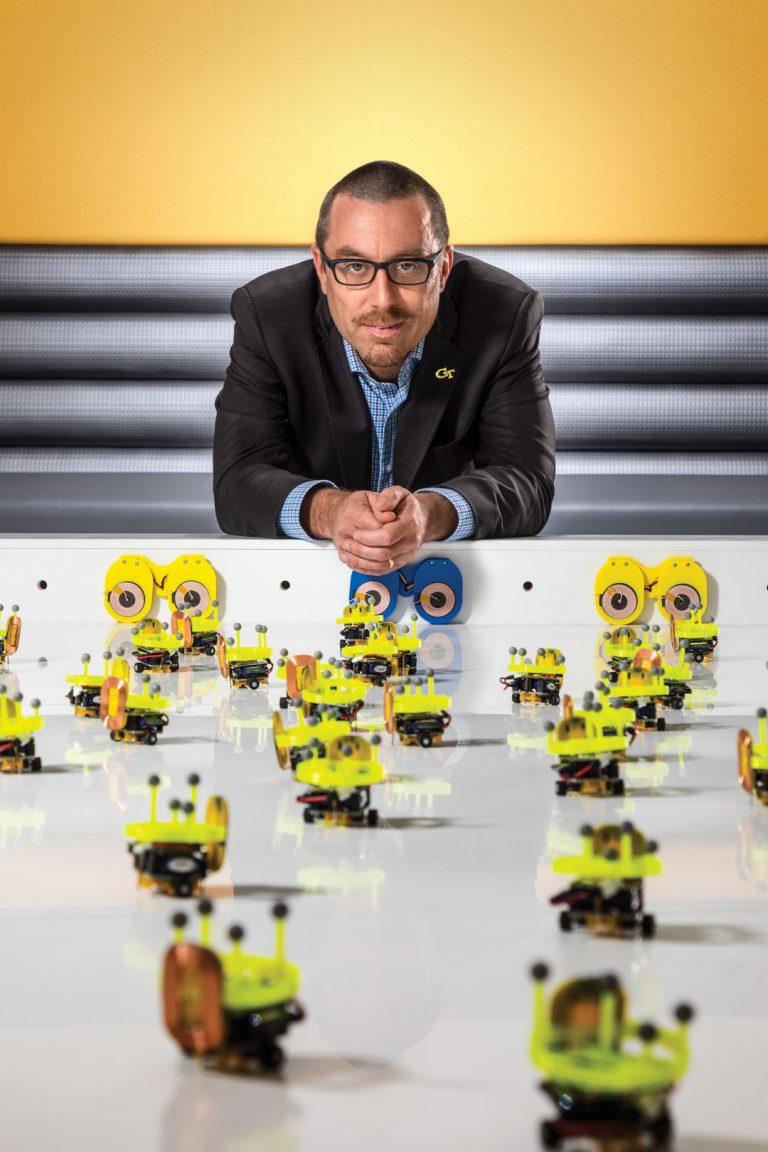 "Georgia Tech's Robotarium is ""a shining beacon of robotic awesomeness"""