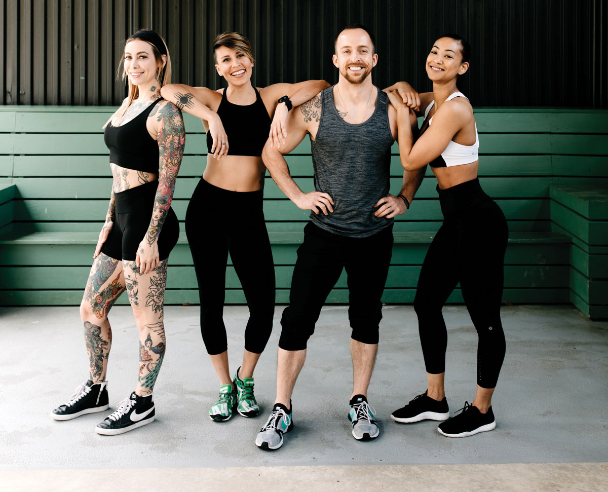 Shed Sweat Series at Ponce City Market