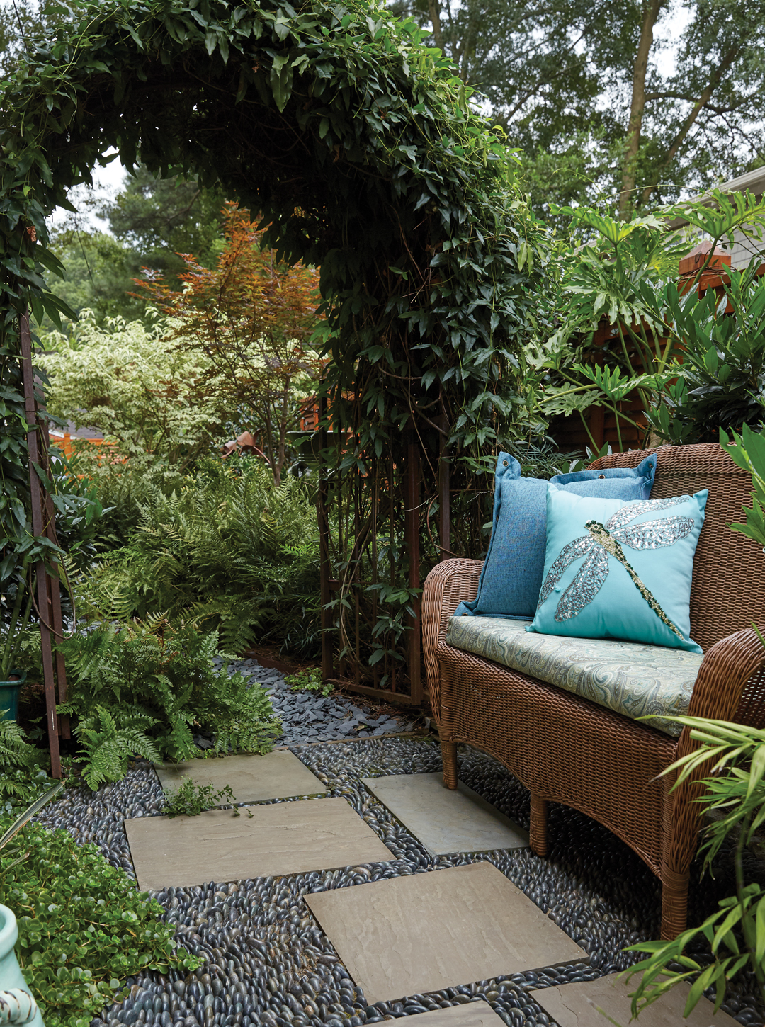 These 3 Atlanta Backyards Are Oases With Lush Plantings