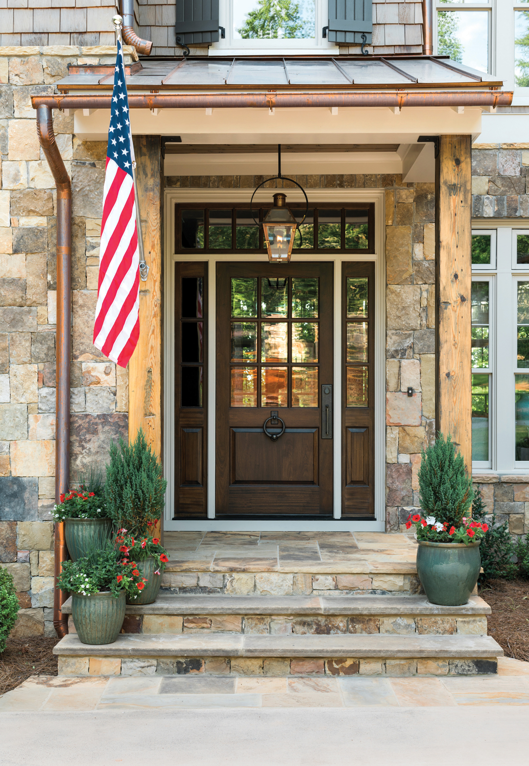 Rustic Lake House Interiors: This Family's Elegant, Rustic Lake Allatoona House Is The